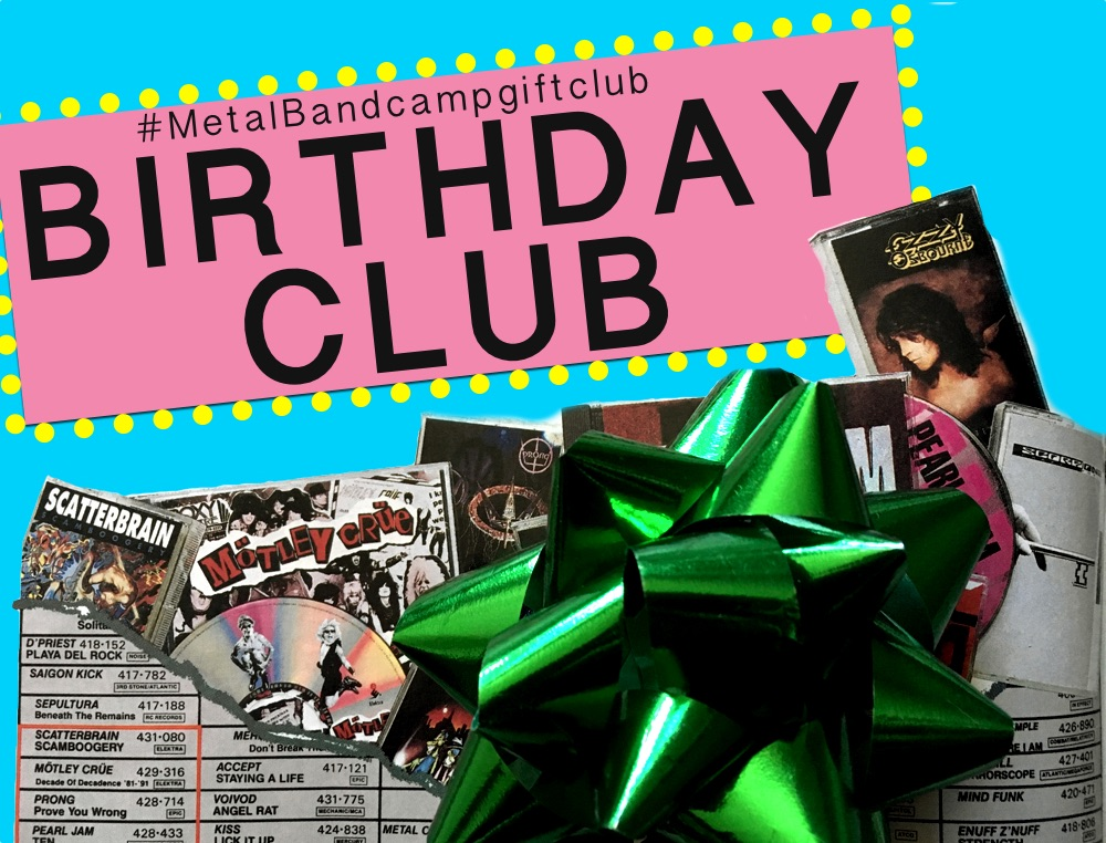 How to Join the #MetalBandcampgiftclub Birthday Club